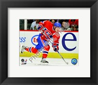 Framed Mike Cammalleri  2009-10 Action