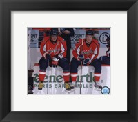 Framed Alex Ovechkin & Alexander Semin 2009-10 Action