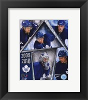 Framed 2009-10 Toronto Maple Leafs Team Composite