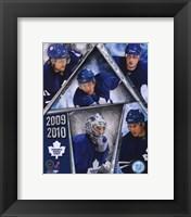 Framed 2009-10 Toronto Maple Leafs Team Composite
