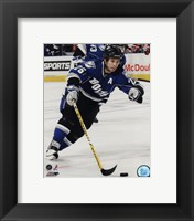 Framed Martin St. Louis 2009-10 Action