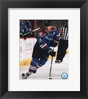 Framed Milan Hejduk 2009-10 Action
