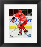 Framed Tuomo Ruutu 2009-10 Action