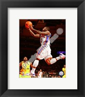 Framed Nate Robinson 2009-10 Action