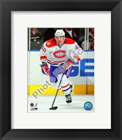 Framed Maxim Lapierre 2009-10 Action