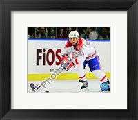 Framed Scott Gomez 2009-10 Action