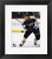 Framed Jordin Tootoo 2009-10 Action