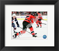 Framed Patrik Elias 2009-10 Action