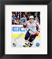 Framed Alex Ovechkin 2009-10 Action