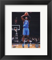 Framed Jeff Green 2009-10 Action