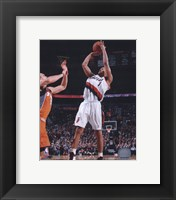 Framed Brandon Roy 2009-10 Action
