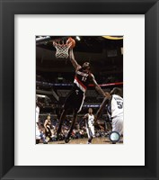 Framed Greg Oden 2009-10 Action
