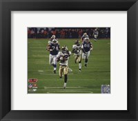 Framed Tracy Porter Super Bowl XLIV Interception & Touchdown Return (#6)