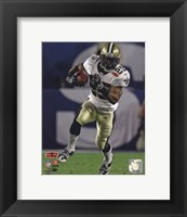 Framed Reggie Bush Super Bowl XLIV Action (#17)