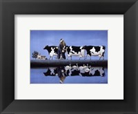 Framed Delta Cows