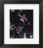 Framed Rudy Fernandez 2009-10 Action