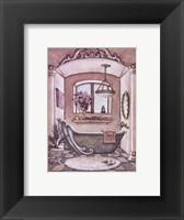 Framed Vintage Bathtub ll