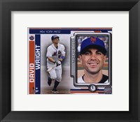 Framed David Wright 2010 Studio Plus