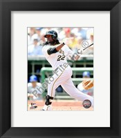 Framed Andrew McCutchen 2010 Action