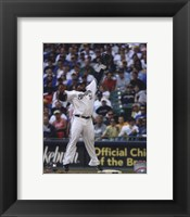 Framed Prince Fielder 2010 Action