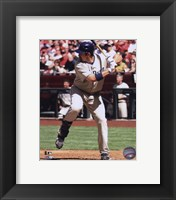 Framed Adrian Gonzalez 2010 Action