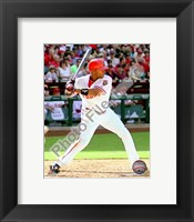 Framed Justin Upton 2010 Action