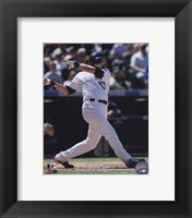 Framed Todd Helton 2010 Action