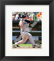 Framed Travis Snider 2010 Action