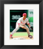 Framed Placido Polanco 2010 Action