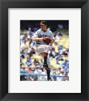 Framed Barry Zito 2010 Action