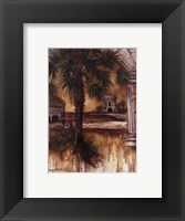 Framed Gateway Of Palms