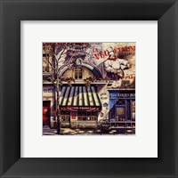 Framed Le Grand Fromages