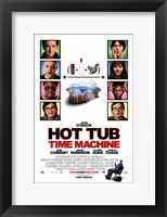 Framed Hot Tub Time Machine - style A