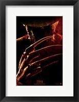 Framed Nightmare on Elm Street, c.2010 - style A