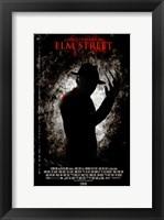 Framed Nightmare on Elm Street, c.2010 - style C