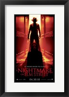 Framed Nightmare on Elm Street, c.2010 - style E