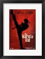 Framed Karate Kid, c.2010 - style A