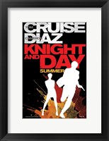 Framed Knight and Day - style A