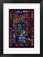 Framed Hobbit, animated - style C