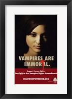 Framed True Blood - Immortal - style G