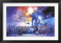 Framed Star Wars - Galaxy