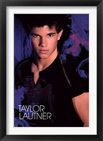 Framed Taylor Lautner - Blue