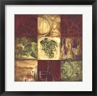 Tuscan Wine I Framed Print