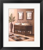 Framed Bath Still Life II