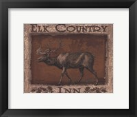 Framed Elk Country - Mini
