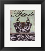 Framed Exotic Purse III - mini