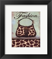 Framed Exotic Purse I - mini