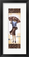Milan Fashion - mini Framed Print