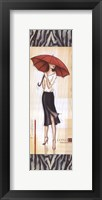 London Fashion - mini Framed Print