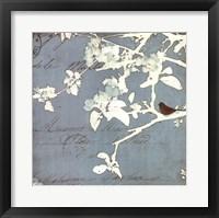 Framed Song Birds III